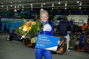 Xandra Velzeboer talent van het jaar Shorttrack