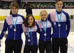 Vier overall medailles Star Class