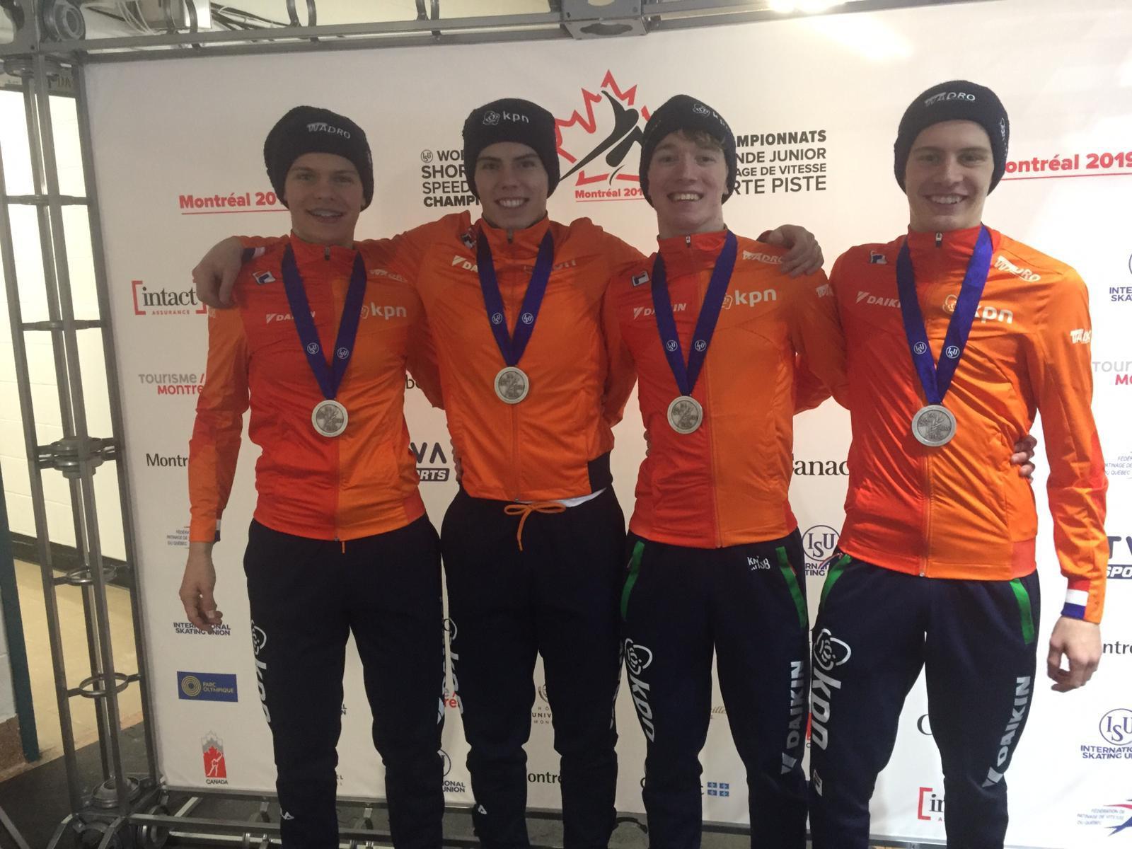 De zilveren mannen van de relay