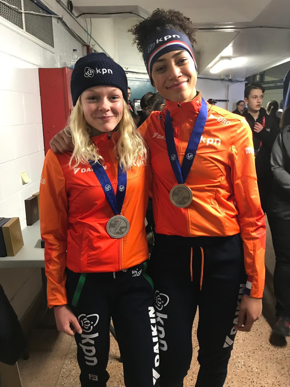 Xandra Velzeboer en Georgie Dalrymple