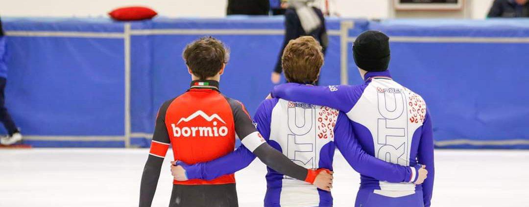 Luca Spechenhauser, Bram Steenaart en Tom Hofker