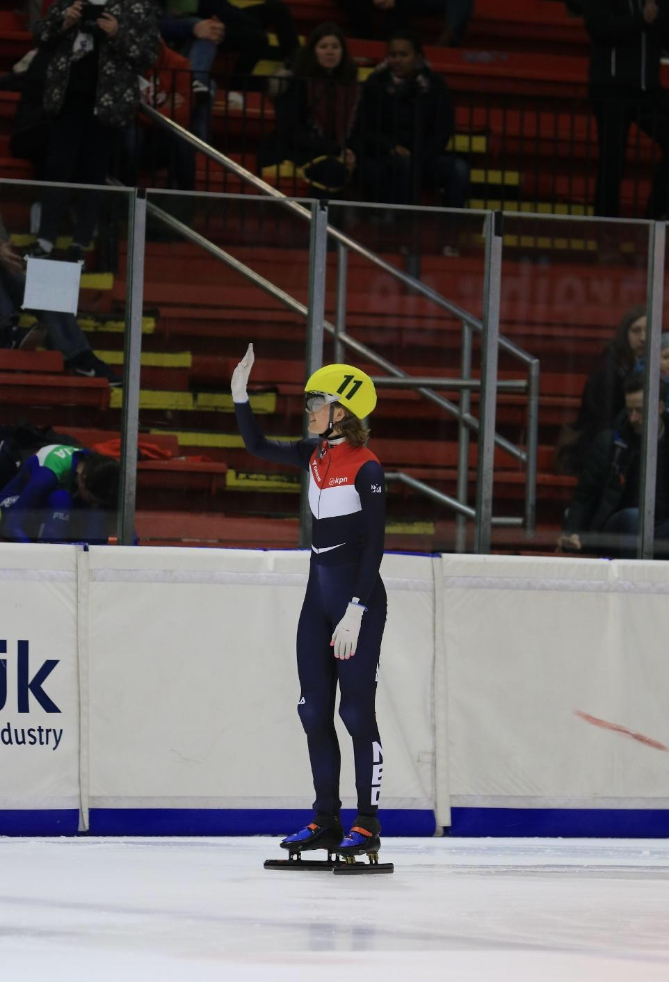 A finale voor Esther Gijsbers op de 500 meter